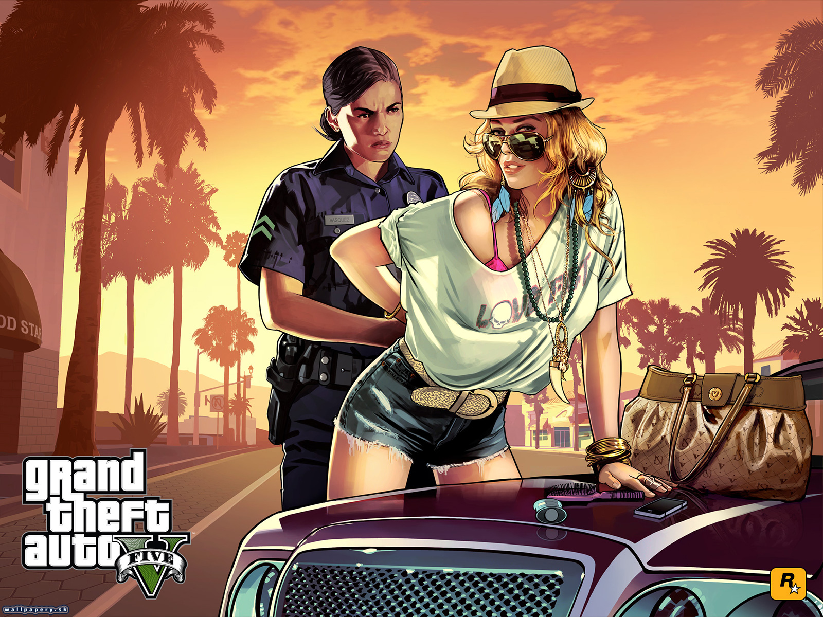 Grand Theft Auto V - wallpaper 8