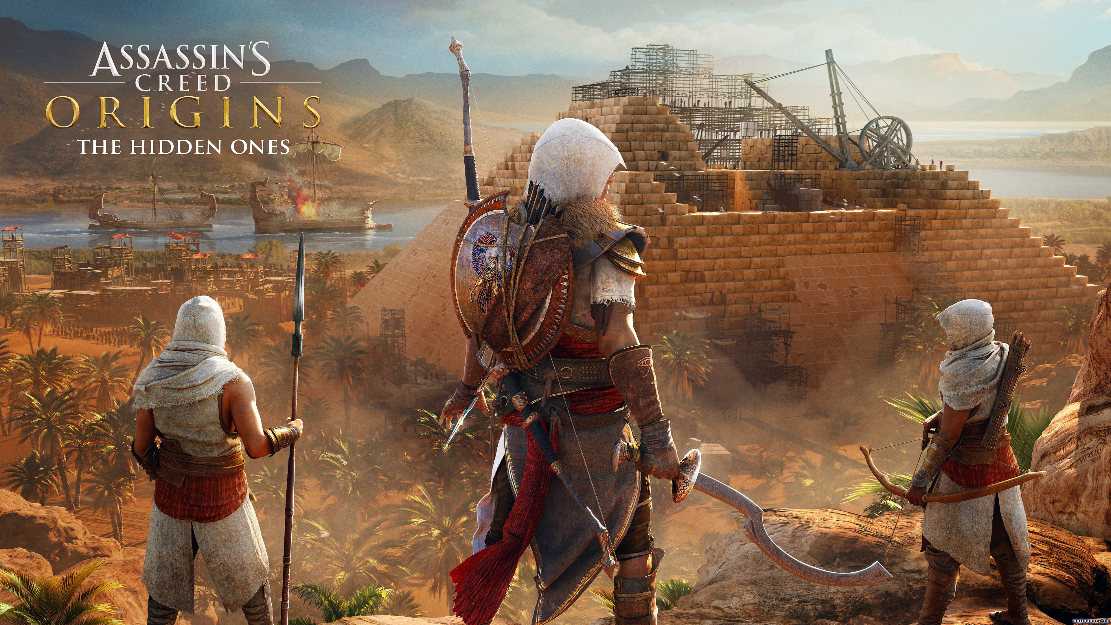 Assassin's Creed: Origins - The Hidden Ones - wallpaper 1