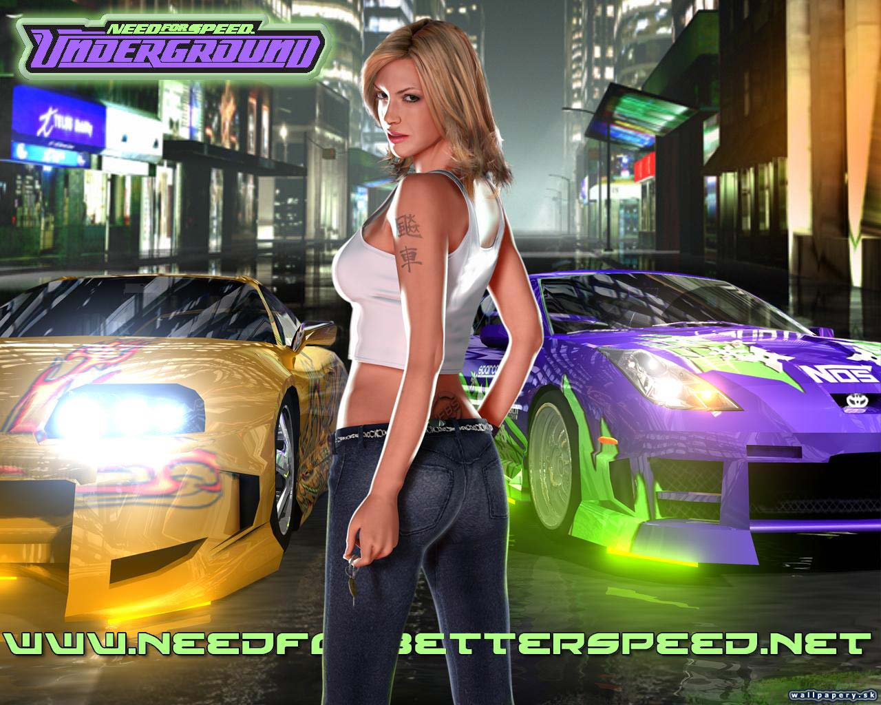 Need for speed underground 2 nude mod naked pic