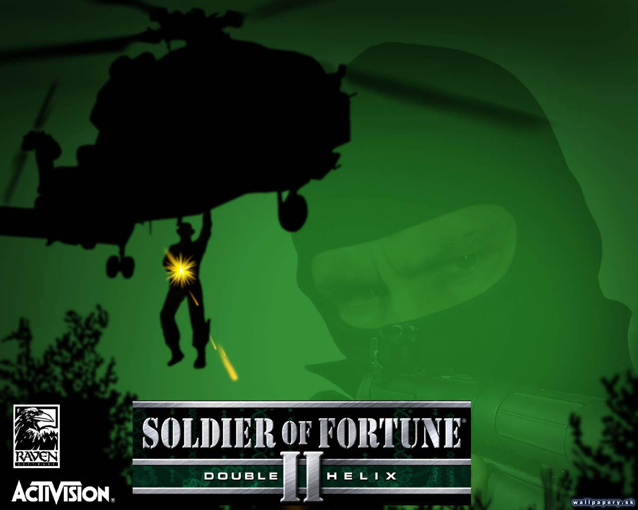 Soldier of Fortune 2: Double Helix - wallpaper 1