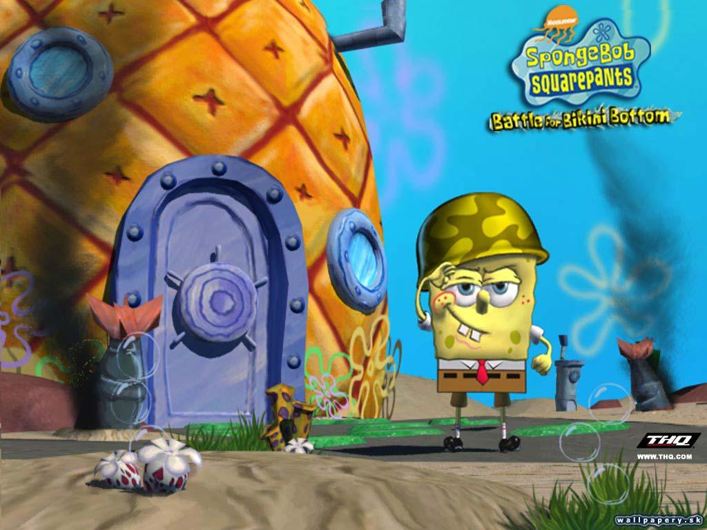 SpongeBob SquarePants: Battle For Bikini Bottom - wallpaper 2.