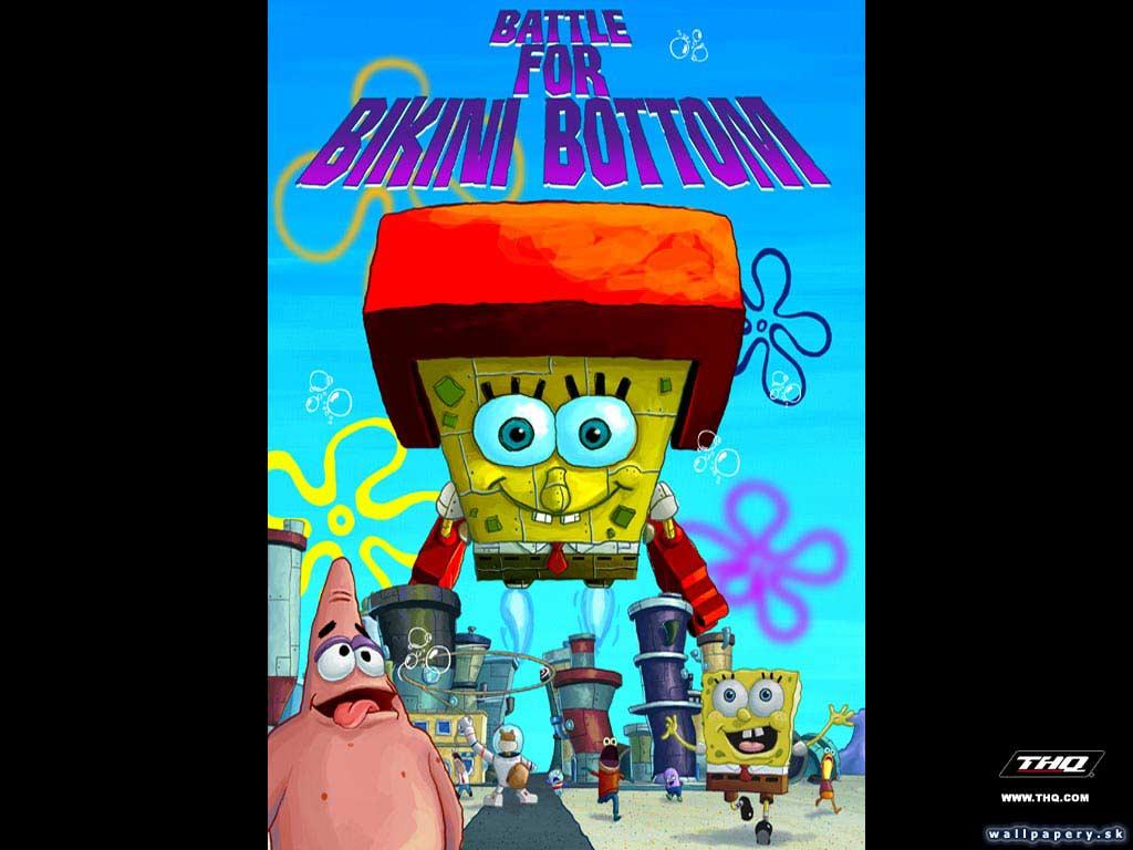 SquarepantsBattle For Bottom Spongebob Bikini 3 Wallpaper 9HW2YDIeE